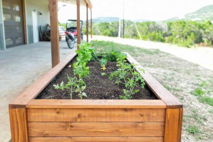 Project Of The Week Raised Garden Bed, Diy Cedar Raised Garden Planter